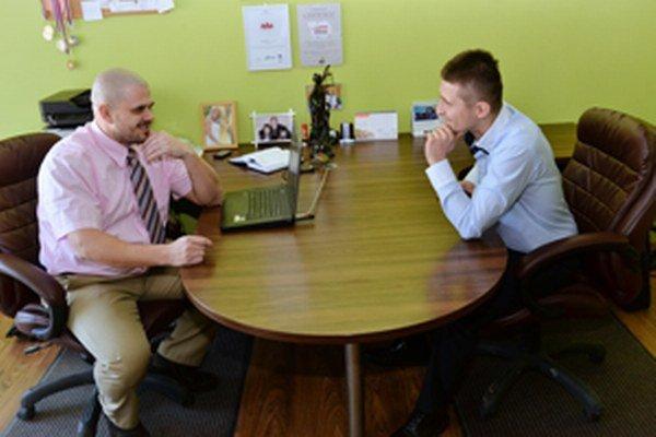Daniel Roman (vľavo) aStanislav Kuspiš sa nebránia podpore rôznych projektov nielen pre mládež.
