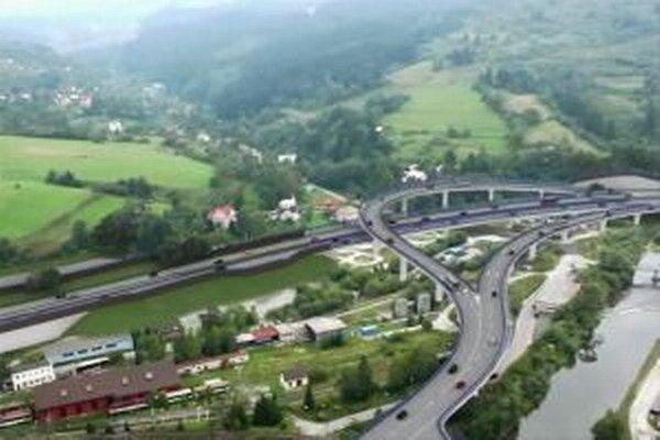 Vizualizácia stavby diaľničného úseku D3 Čadca, Bukov – Svrčinovec.