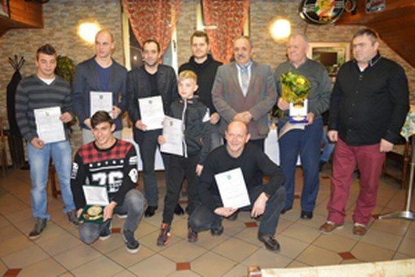Najlepší športovci Krásna nad Kysucou za rok 2015.