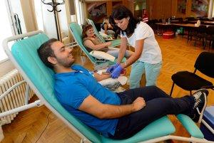 Darcovia už krv nemusia odovzdávať len v nemocniciach.
