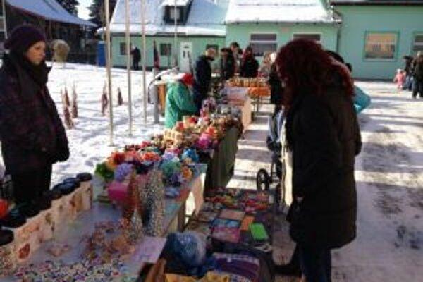 Vo Vysokej zorganizovali Vianočné trhy prvýkrát.