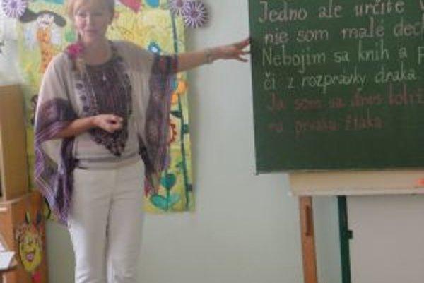 Daša Byrtusová učí v Základnej škole J. A. Komenského už viac ako dve desaťročia.