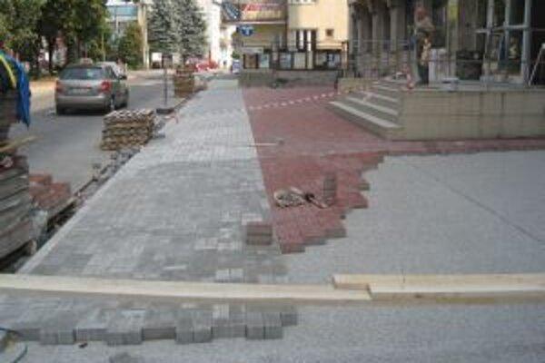 V Kysuckom Novom meste pokračujú s regeneráciou centrálnej mestskej zóny.