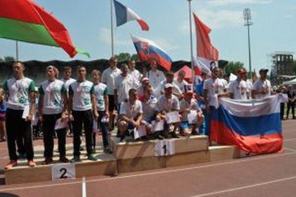 Na hasičskej olympiáde obsadili Slováci krásne štvrté miesto.