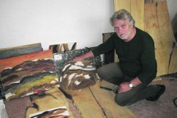 Akademický sochár Gustáv Švábik Macvejda oslávil tento rok okrúhle jubileum.
