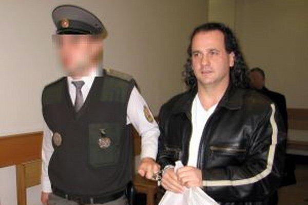 Na snímke 43-ročný František S., ktorý si v súčasnej dobe odpykáva trest odňatia slobody v Košiciach.