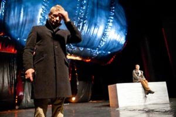 Richard Stanke si pod režijným vedením Ingrid Timkovej zahrá prvý raz.