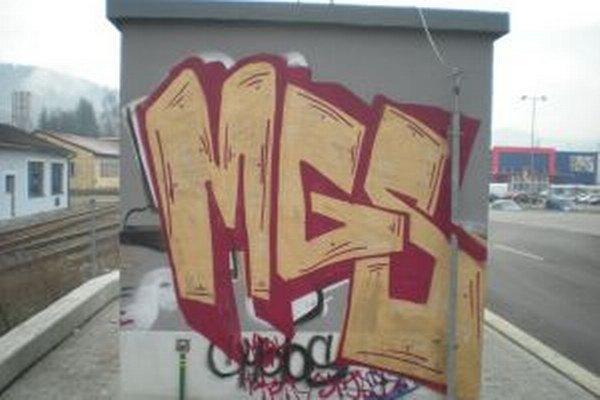 Maľovanie grafitov je pre sprejerov adrenalínovým športom.