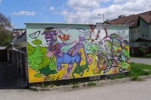 Niektorým obyvateľom sa tieto diela sprejerov páčia. Každý má na takéto umenie svoj vlastný názor.