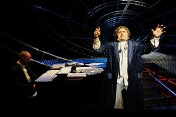 Jevgenij Libezňuk ako Ludwig van Beethoven.