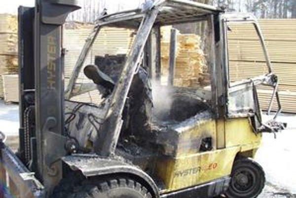 Hasičom sa podarilo požiar vozíka včas uhasiť. Škody sa vyšplhali na 15-tisíc eur.