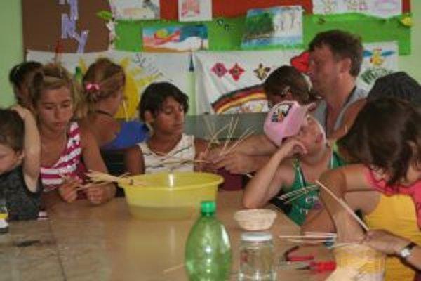 Deti sa naučia v Dúhe robiť všeličo zaujímavé.
