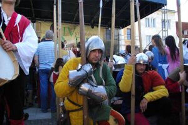 Žilina zažila ďalší stredoveký deň.