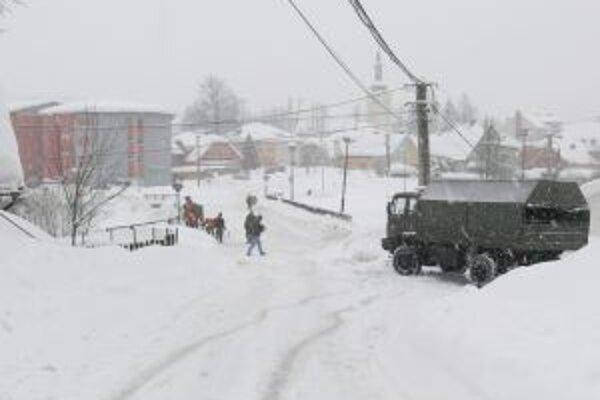 Do Turzovky prišla na pomoc armáda.