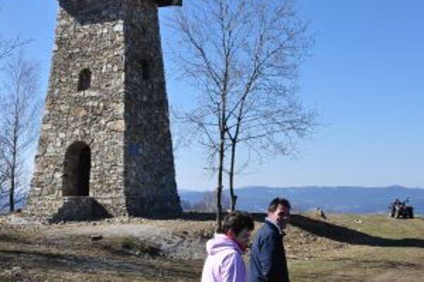 Mnohí si počas Veľkonočného pondelka vychutnali pohľad na okolitú krajinu.