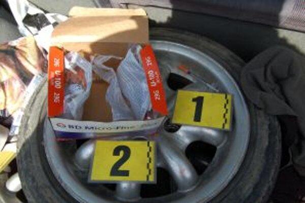 Mladík z Kysúc kupoval psychotropné látky v Českej republike.