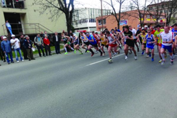 Kysucká desiatka bola i v tomto roku súčasťou MSR v cestnom behu na 10 km.