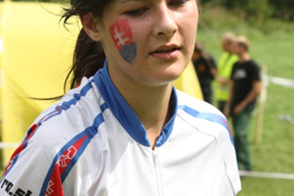 Katarína Košutová, úspešná reprezentantka SR v rádio-orientačnom behu.