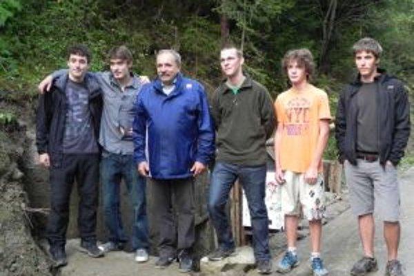 Bunkre sa podarilo sprístupniť verejnosti aj vďaka oduševnenosti mladých dobrovoľníkov.