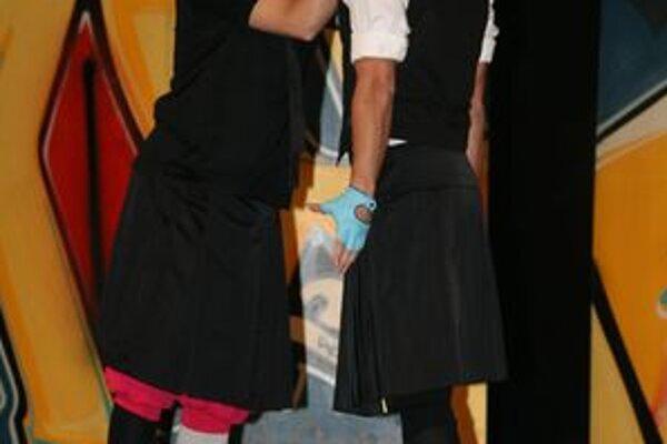 Divadelné predstavenie Dvaja veronskí šľachtici v podaní hercov Mestského divadla v Žiline.