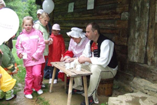 Deti v Turzovke počas MDD.