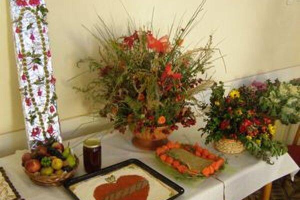 Pestovatelia svoju úrodu vystavili aj v kostole.