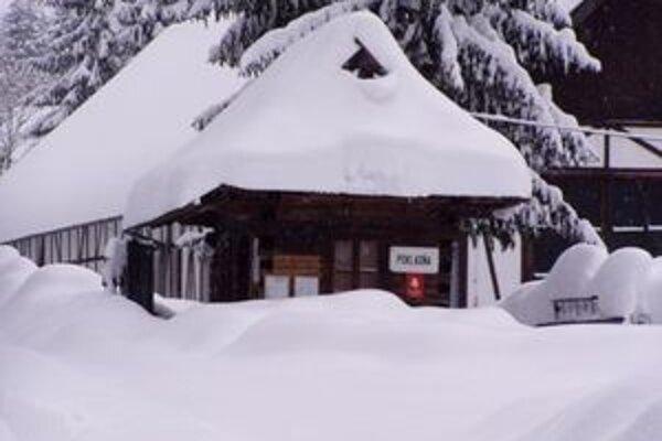 Zima vo Vychylovke.