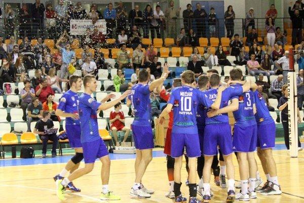 Zverenci Mareka Kardoša zatiaľ vyhrali v play-off všetkých šesť zápasov. Nitra bude hrať prvýkrát v histórii vo finále extraligy!