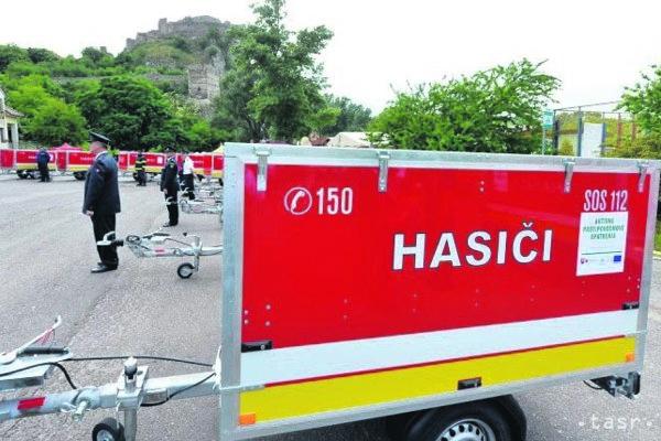 Vozíky sú darom ministerstva vnútra.