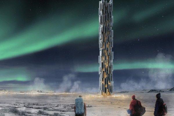 Data Tower - návrh mrakodrapového úložiska dát.