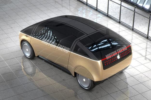 Takto si možné Apple auto predstavujú kalifornskí dizajnéri.