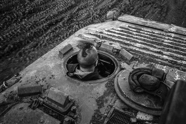 Na Východe nič nové, Donbass, Ukrajina, 2014 - 2015.