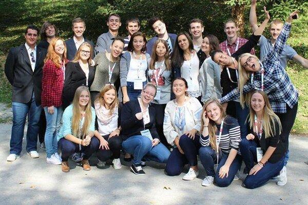 Študenti sa stretli v Belušských Slatinách.