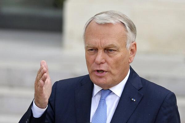 Francúzsky minister zahraničných vecí Jean-Marc Ayrault.