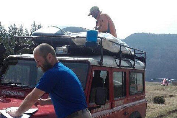 Horskí záchranári pomáhali portugalskému vodičovi. Ilustračné foto.