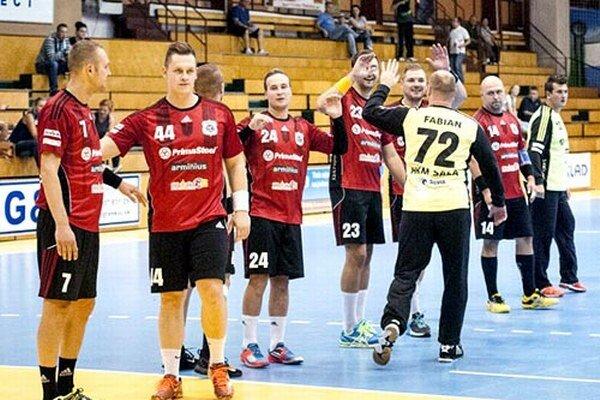 Hádzanári Šale vsobotu potešili svojich fanúšikov avybojovali víťazstvo srivalom zPovažskej Bystrice.