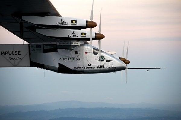 Lietadlo Solar Impulse 2.