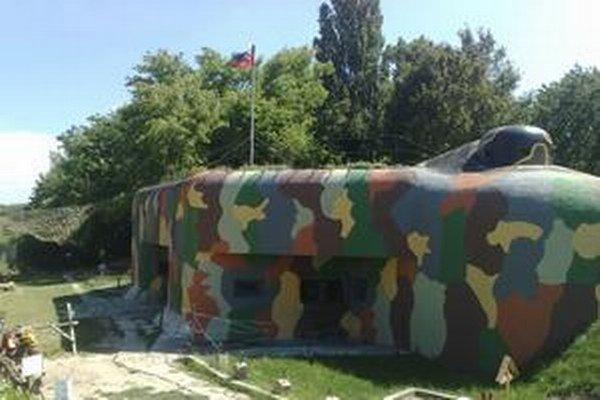 Bunker v Petržalke.