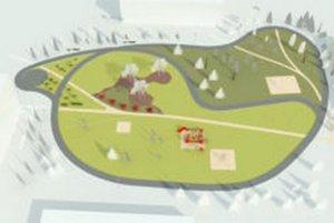 Na Etape má vzniknúť dráha pre korčuliarov aj tri celky na hranie a cvičenie.