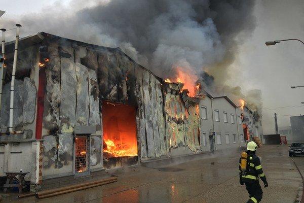 Príčiny požiaru vyšetrujú.