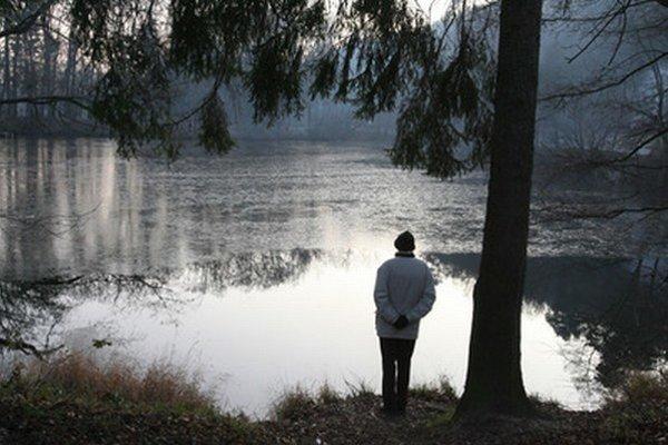 Jazero na Železnej studničke.