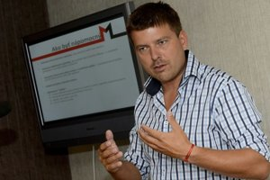 Martin Borguľa sa bude uchádzať len o post poslanca miestneho a mestského zastupiteľstva.