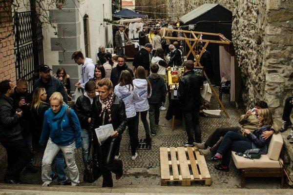 Na prvom bratislavskom Októberfeste sa prezentovali malé pivovary.