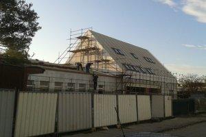 Nový kultúrny dom má byť hotový v januári.