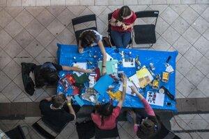 Súčasťou Rozvojového dňa boli aj tvorivé dielne.