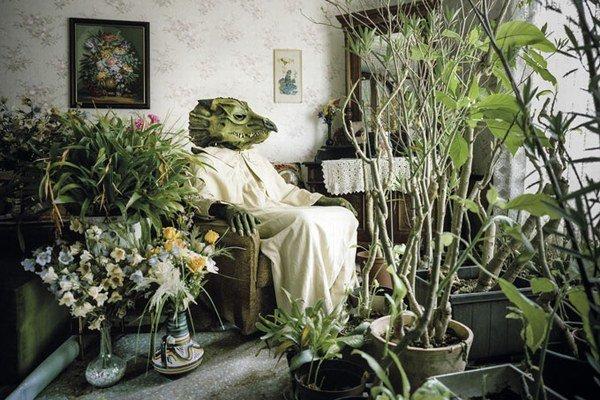 Z výstavy Klausa Pichlera v Rakúskom kultúrnom fóre.