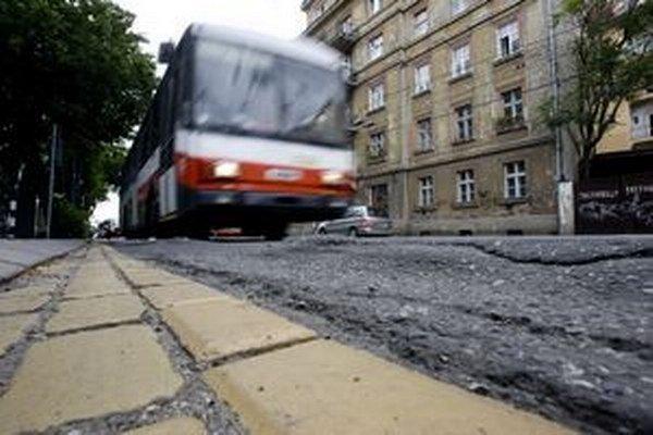 Na Hroboňovej majú depo trolejbusy.