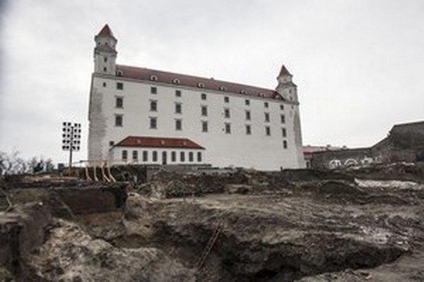 Bratislavský hrad.