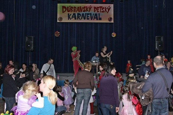 Karneval v Dome kultúry.