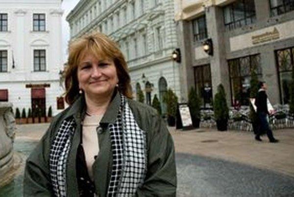 Hlavná architektka Ingrid Konrad.